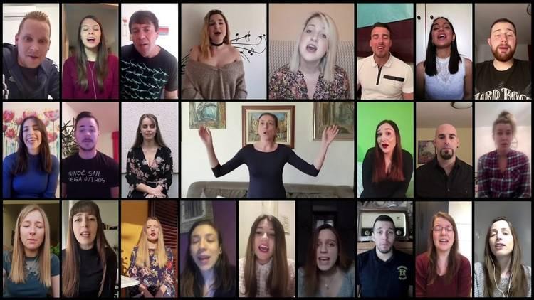 Rijeka youth choir