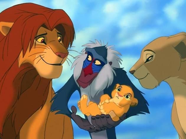 El rey león, Disney