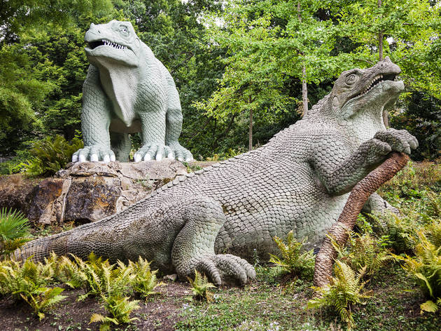 Crystal Palace Dinosaurs, Andy Parsons