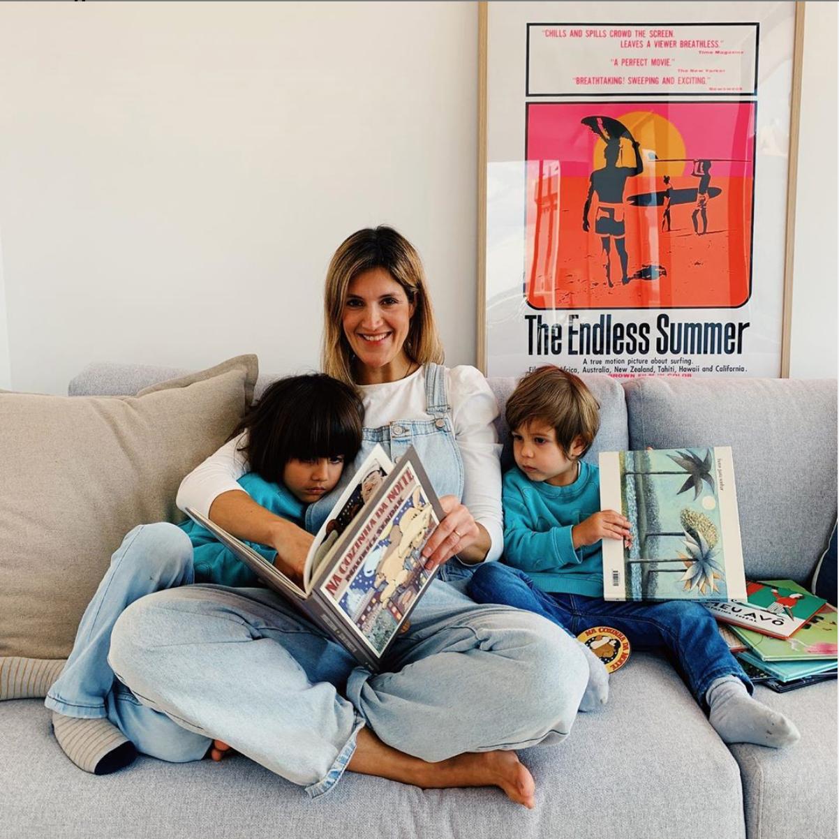 Hora do conto com a actriz Sofia Correia