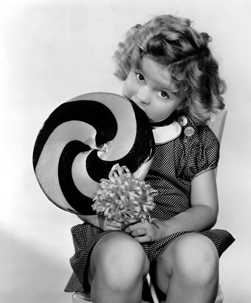 Shirley Temple en Ojos cariñosos