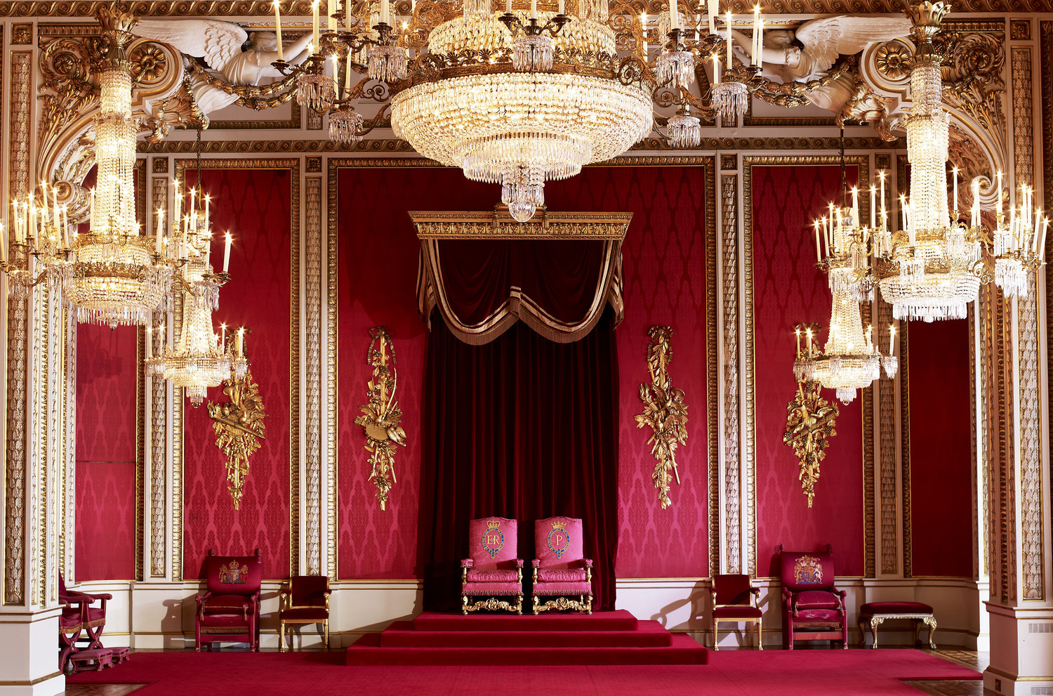 Check out the inside of Buckingham Palace and the Royal Collection