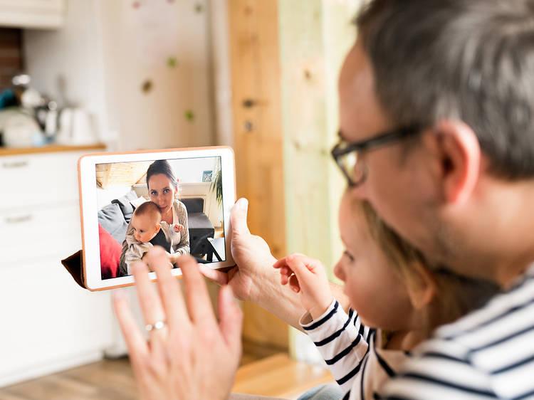 Volver a las largas videollamadas con amigos y familiares