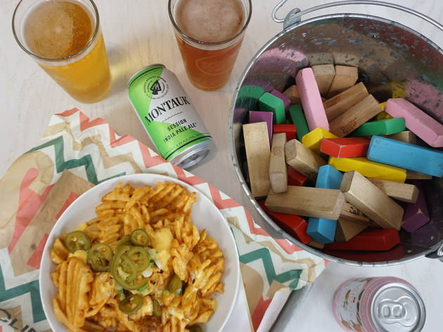 NYC restaurants are offering care packages with games and toilet paper