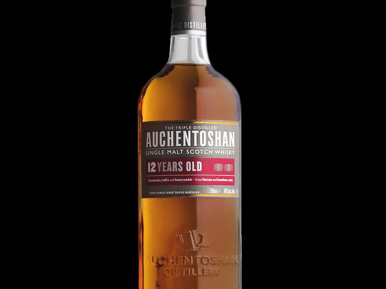 Auchentoshan 12 Year Old Single Malt Whisky (Lowland )