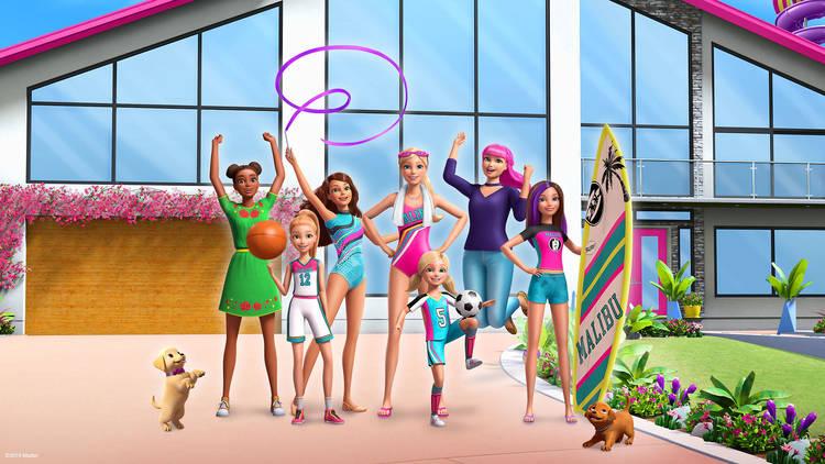Barbie Dreamhouse Adventures: ¡Vamos, equipo Roberts!