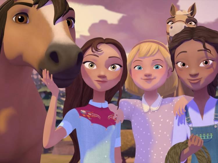 Spirit: Cabalgando libre - Academia de equitación