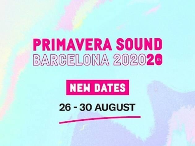 El Primavera Sound 2020 se celebrarà a l'agost