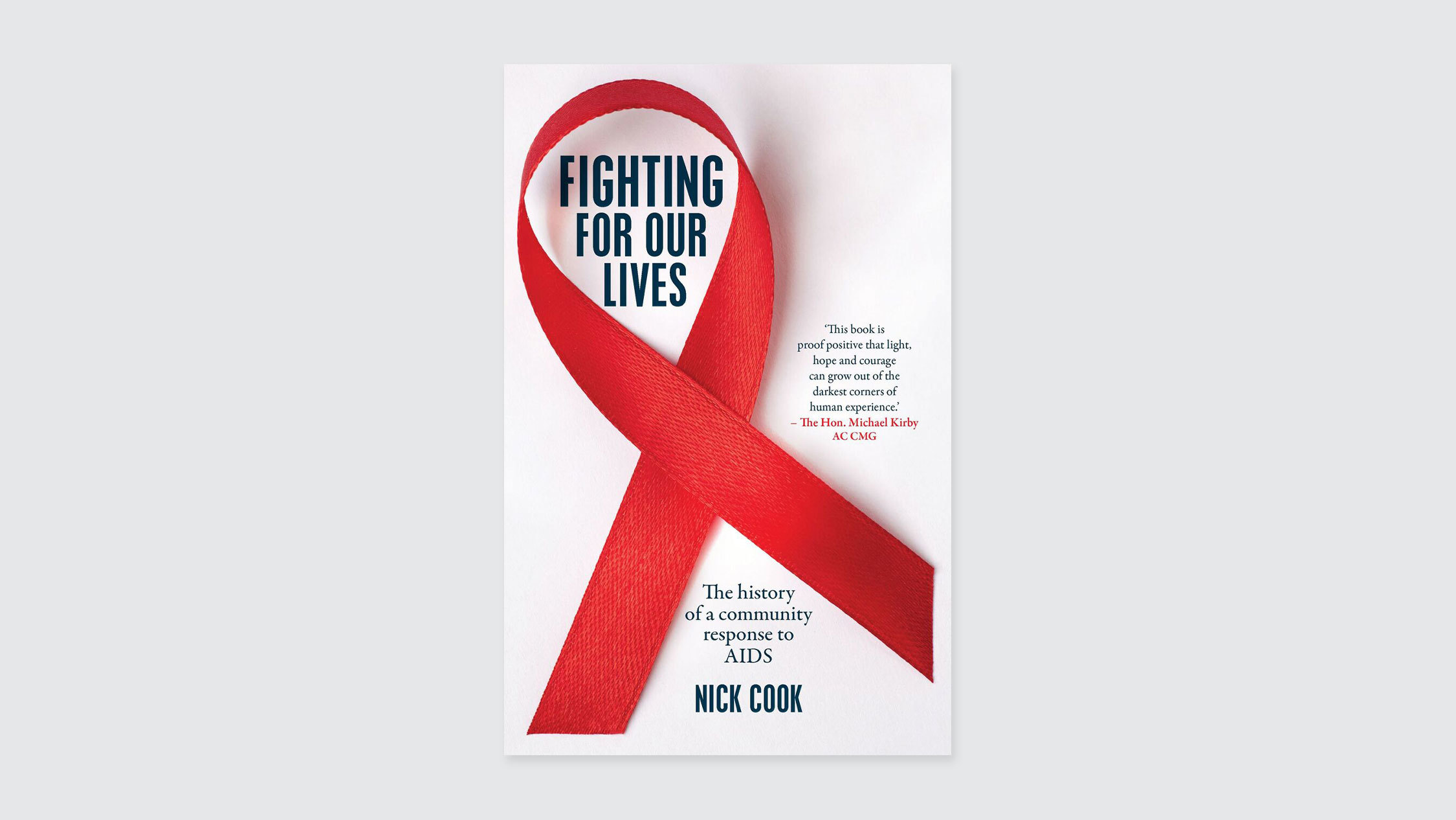 Fighting for Our Lives, by Nick Cook, book cover