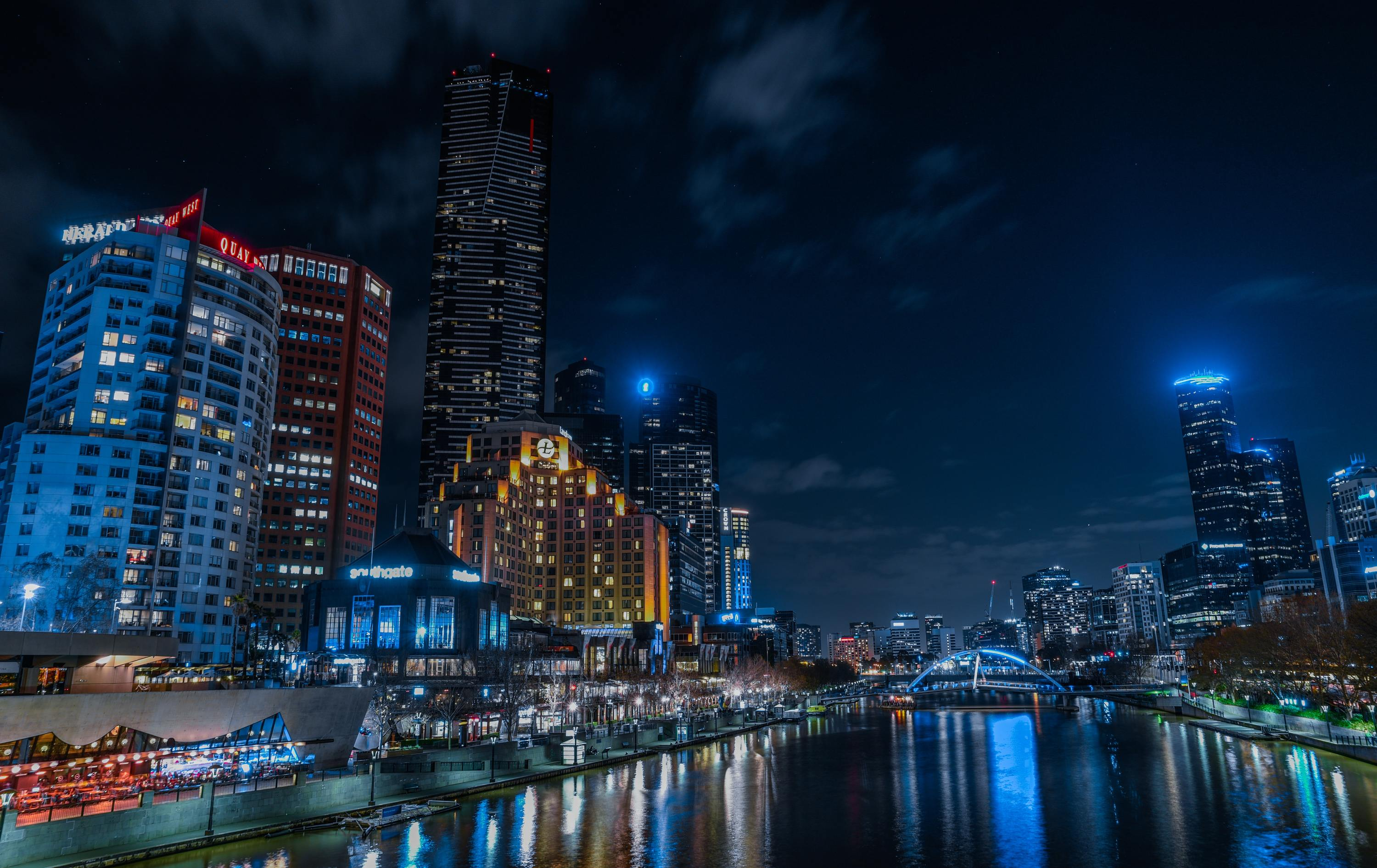 Melbourne CBD residents started screaming outside their windows last night
