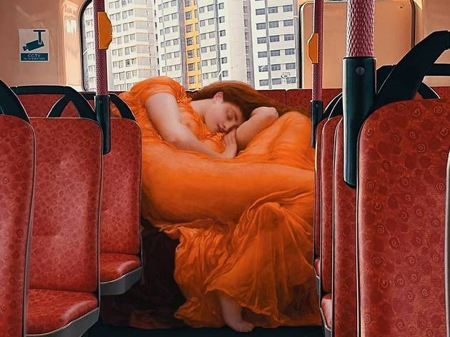 Meet the artist who reimagines classical figures into modern-day Singapore