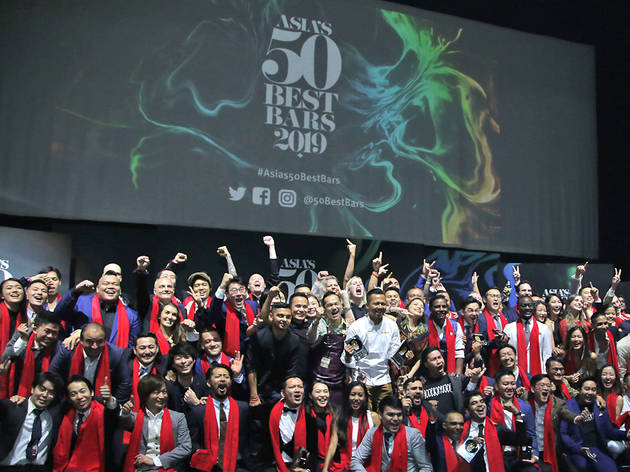 Asia's 50 Best Bars 2020 cancels on-ground award ceremony