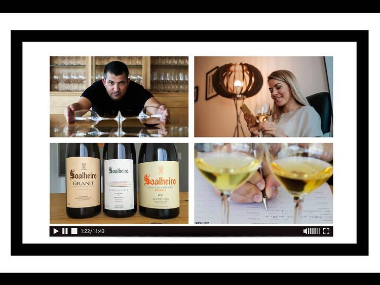Soalheiro leva provas comentadas (e vinho) a sua casa