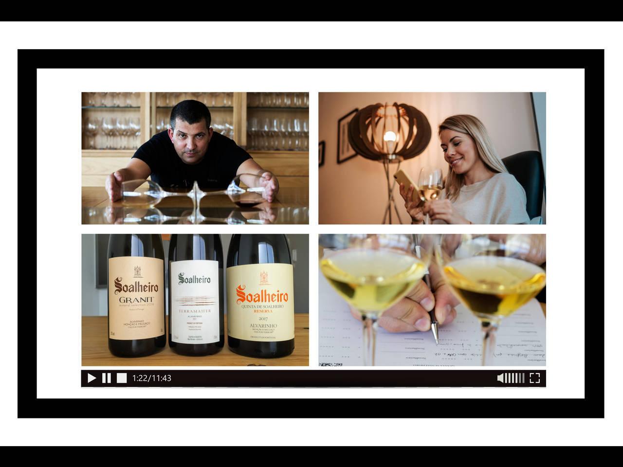 O kit de prova inclui três vinhos, mas não só