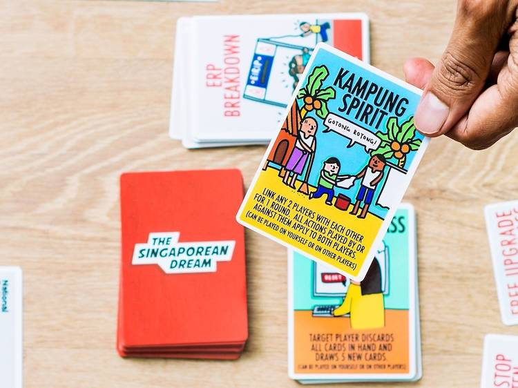 The best board and card games to play in Singapore