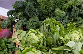 Mercado benito hortalizas frescas del mercado