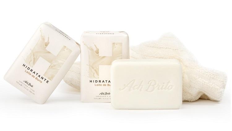 Ach Brito lança novo sabonete com leite de burra