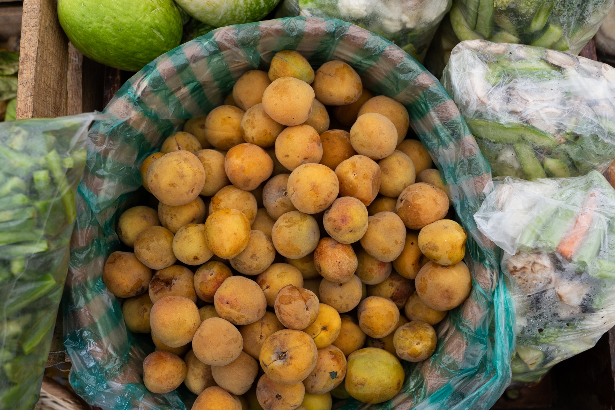 Mercado de Tlalpan frutas frescas de mercado