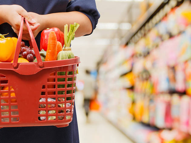 Groceries - stock