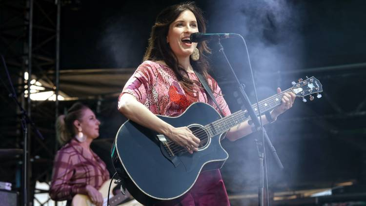 Missy Higgins performs live at the Sydney Opera House
