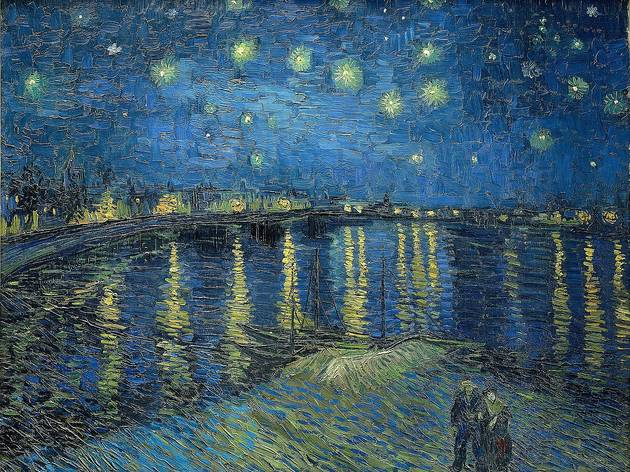 Creative Commons. Vincent van Gogh: Starry Night Over the Rhone