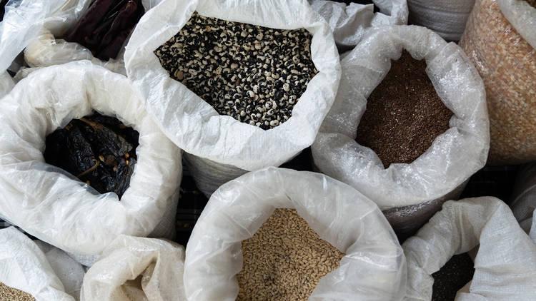 Mercado el 100 semillas naturales, mercado, comer