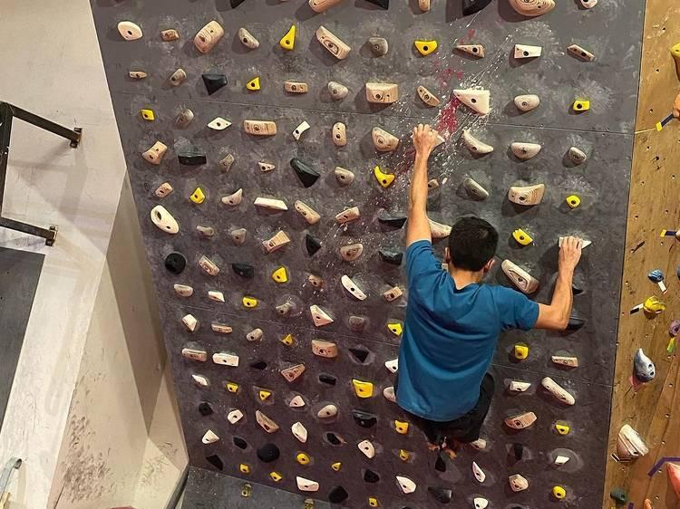 Attic V Rock Climbing Gym