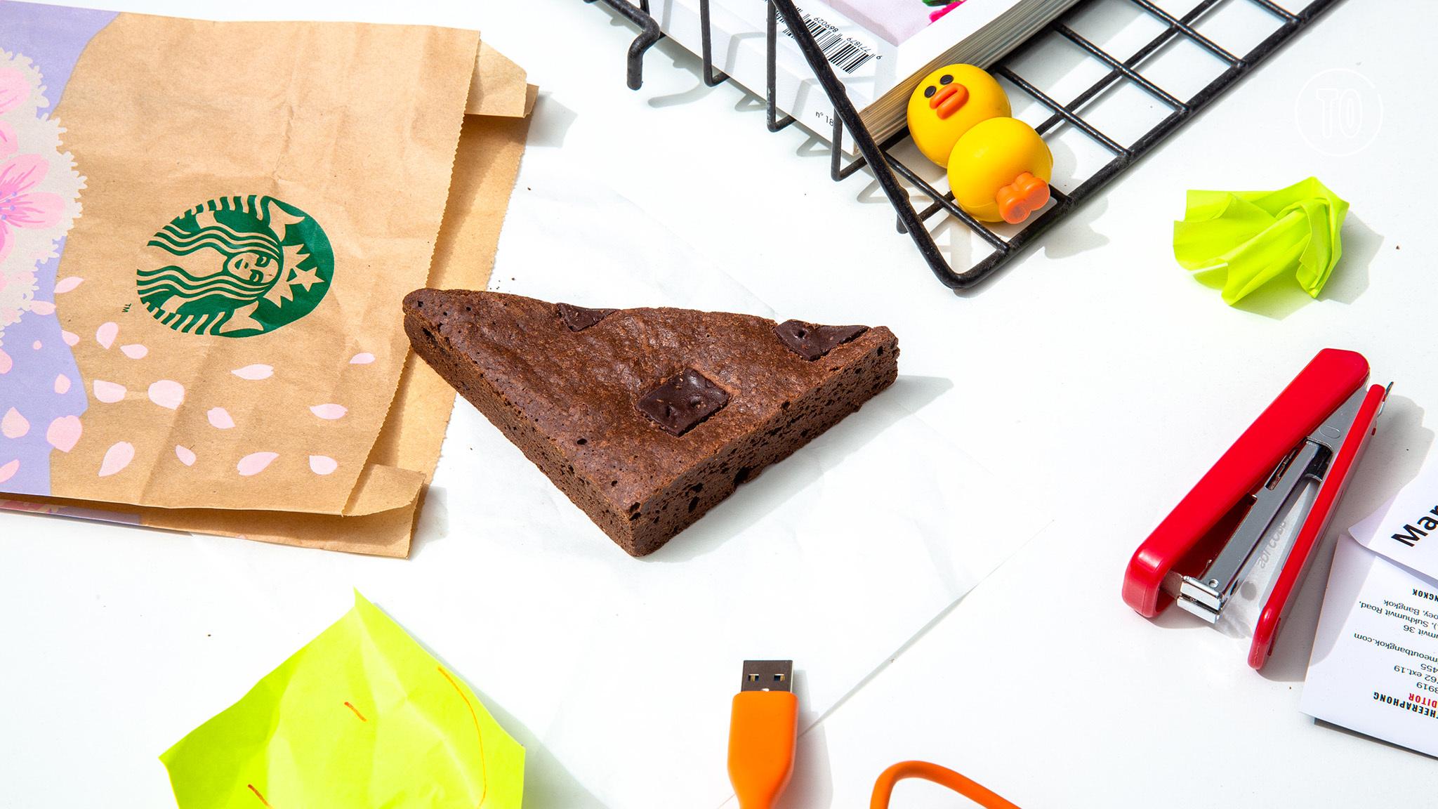 Starbucks brownie