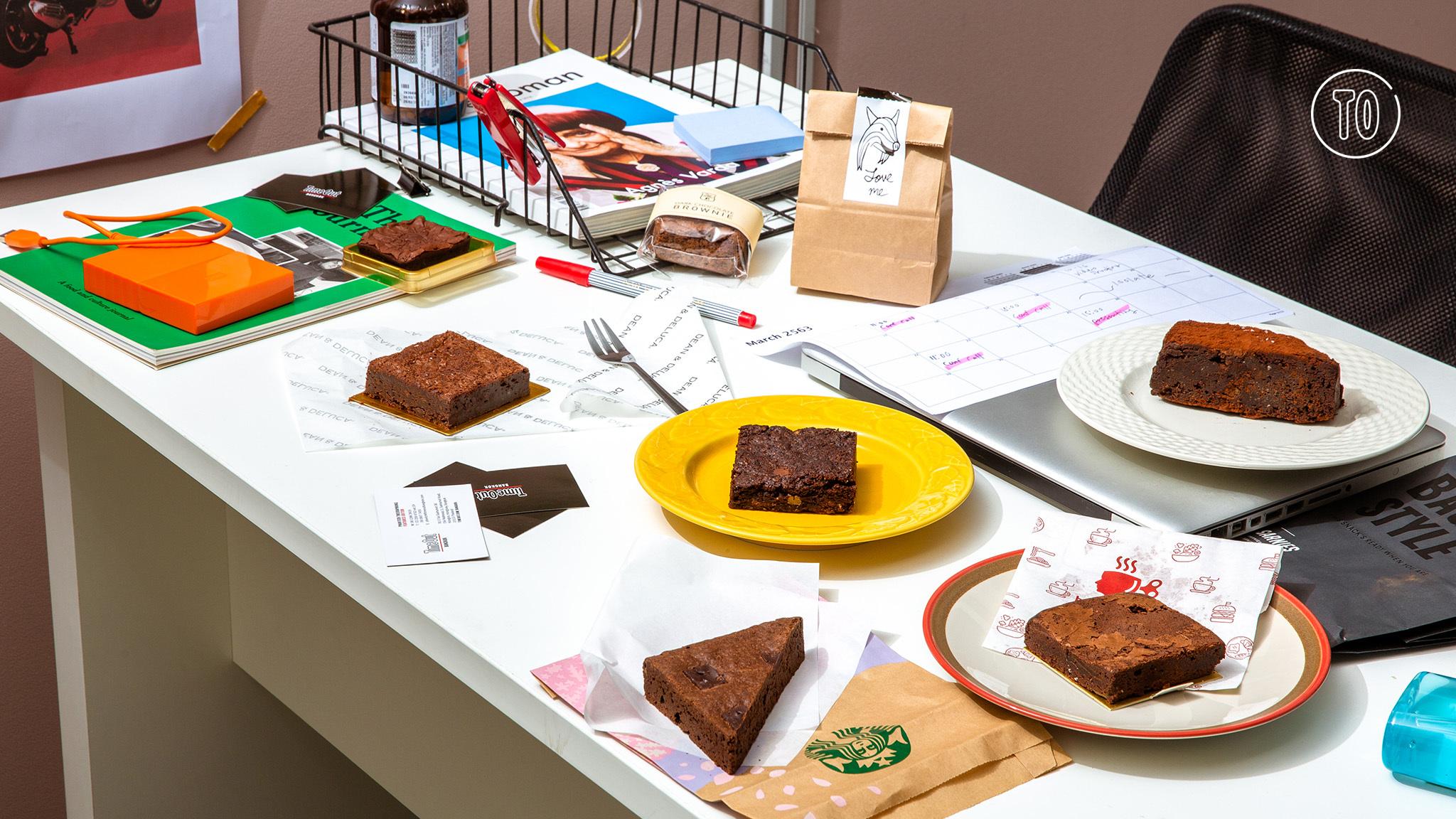 Blind taste test: Who bakes the best brownie in Bangkok?