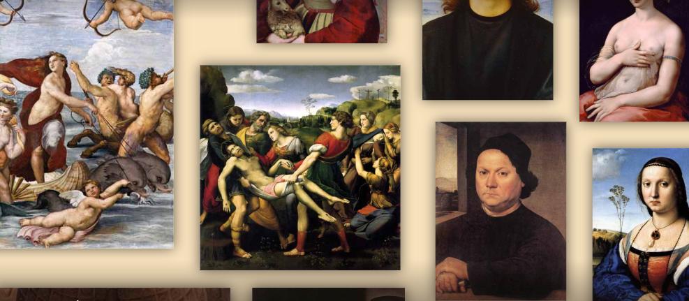 Un museo virtual con todos los cuadros de Rafael