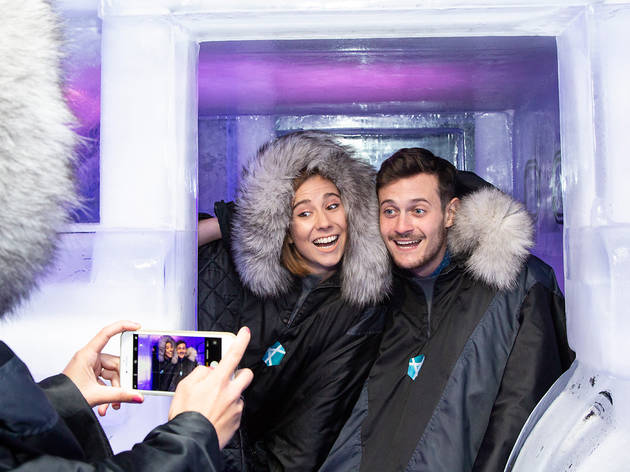 Photograph: Ice Bar