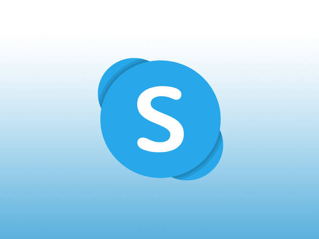 Icon for video call app Skype