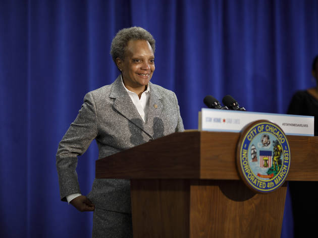Lori Lightfoot, Chicago mayor