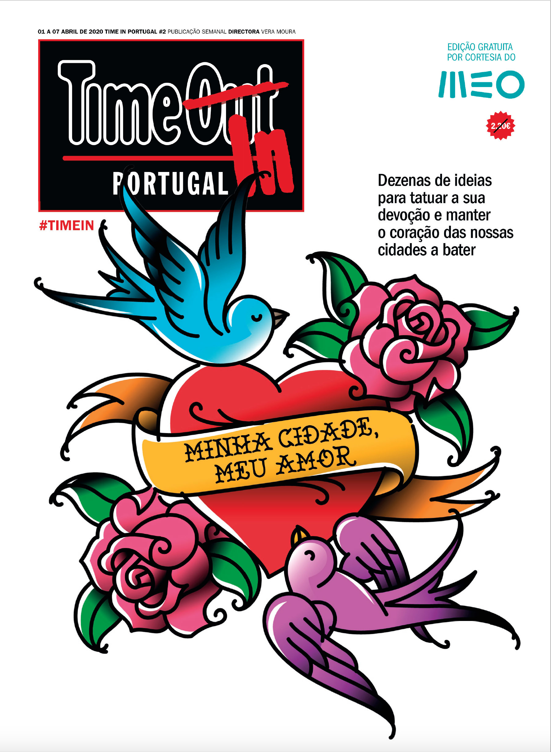 Time Out Portugal Cover