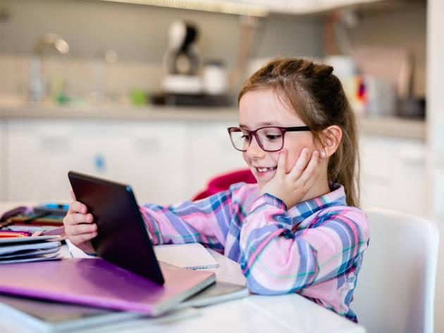 Clases de idiomas online para niños