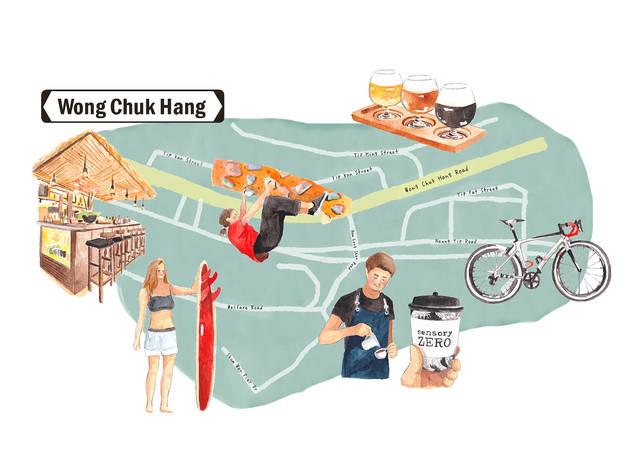 wong chuk hang ultimate guide graphic