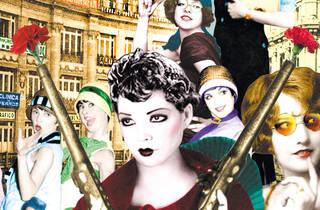 Mujeres en un collage de Amaya Lalanda
