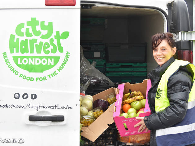 A London charity is fundraising to deliver surplus food to those in need