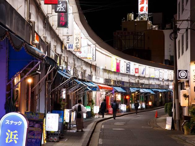 野毛都橋商店街