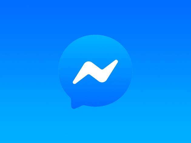 Facebook Messenger chat app logo