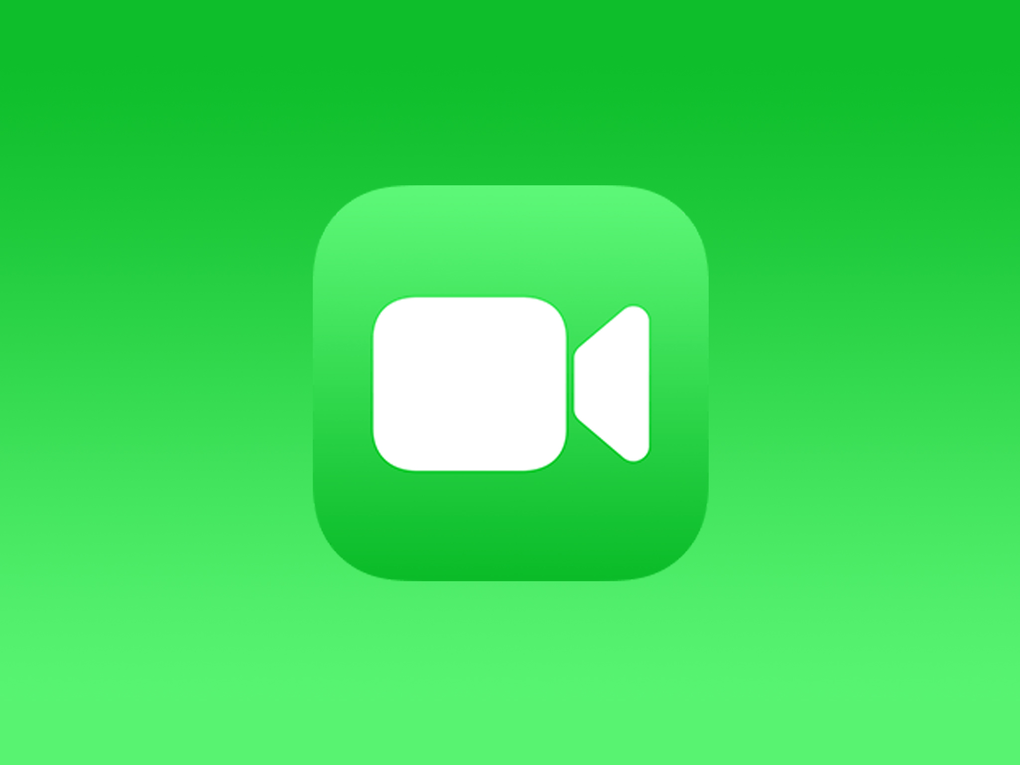 Apple FaceTime video chat app logo