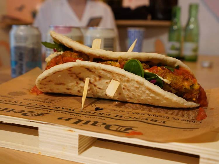 Get the finest fresh falafel delivered to your Zagreb home