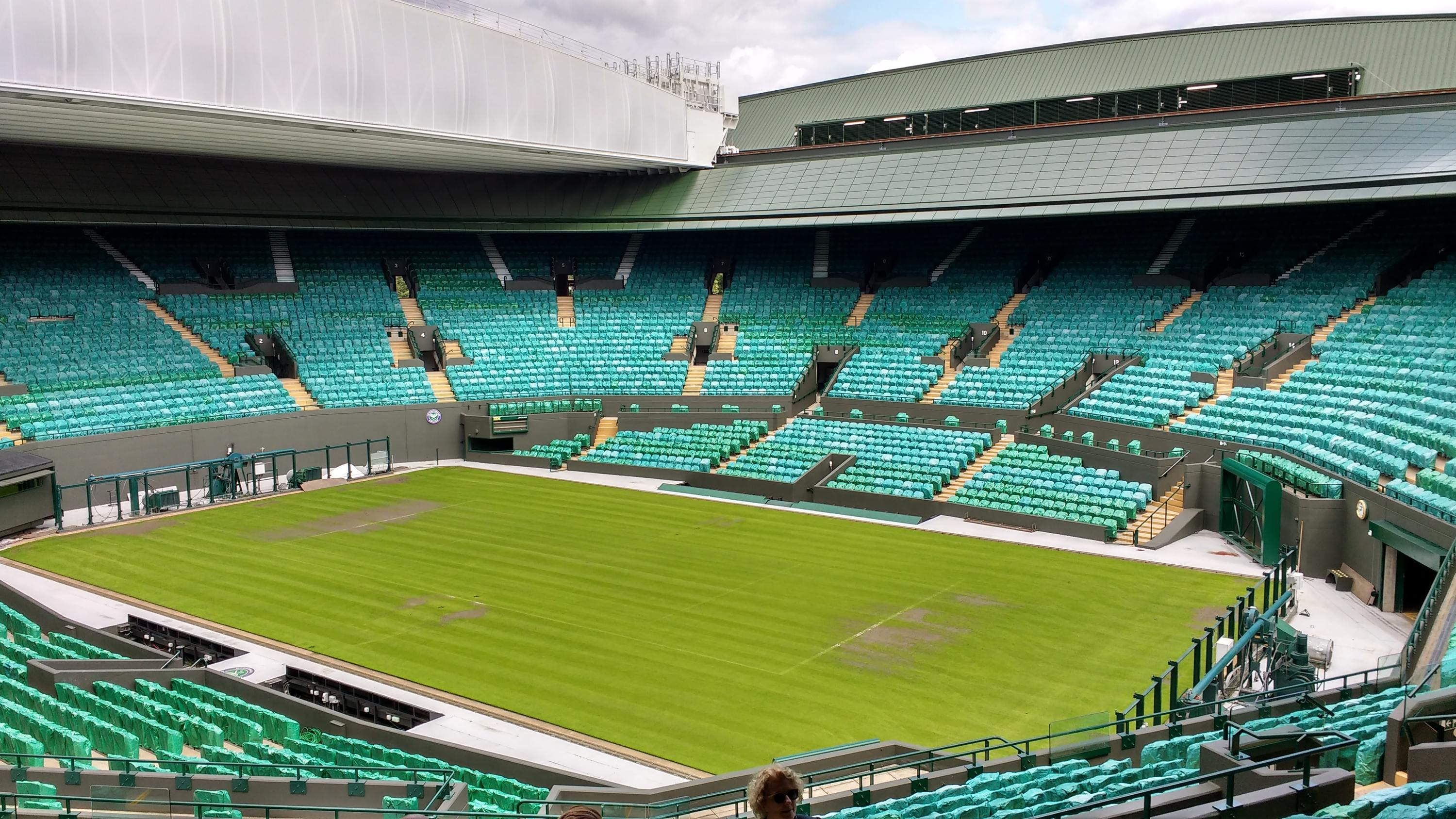 The Wimbledon tennis championships are off
