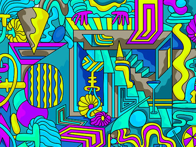 These NYC-based artists are making free digital coloring books