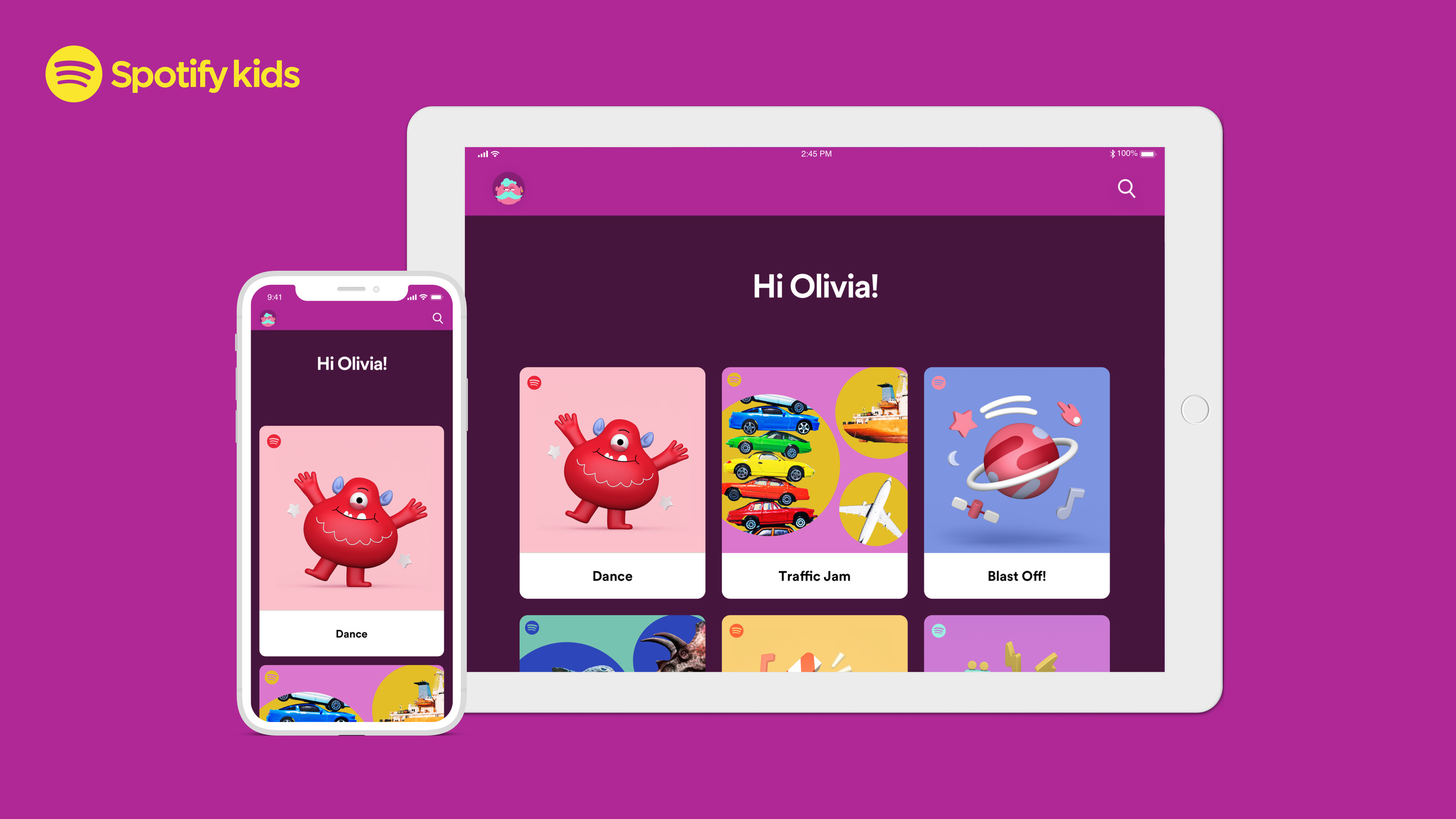 Spotify Kids is now a thing