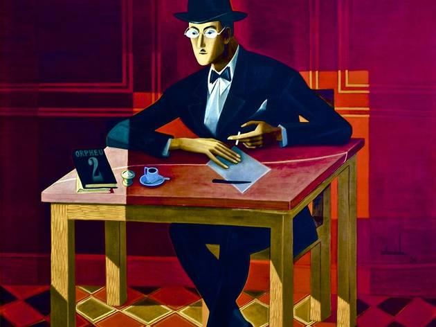 Retrato de Fernando Pessoa (1954), Almada Negreiros