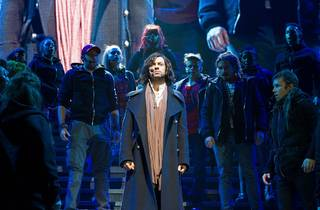 A scene from the 2012 arena spectacular production of Jesus Christ Superstar