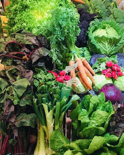 Verdura ecològica de la botiga Free Food