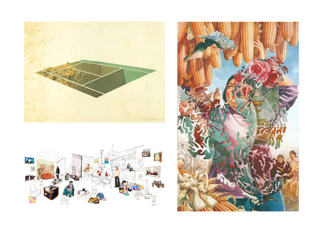 Com fer un collage? Els artistes ens ho expliquen