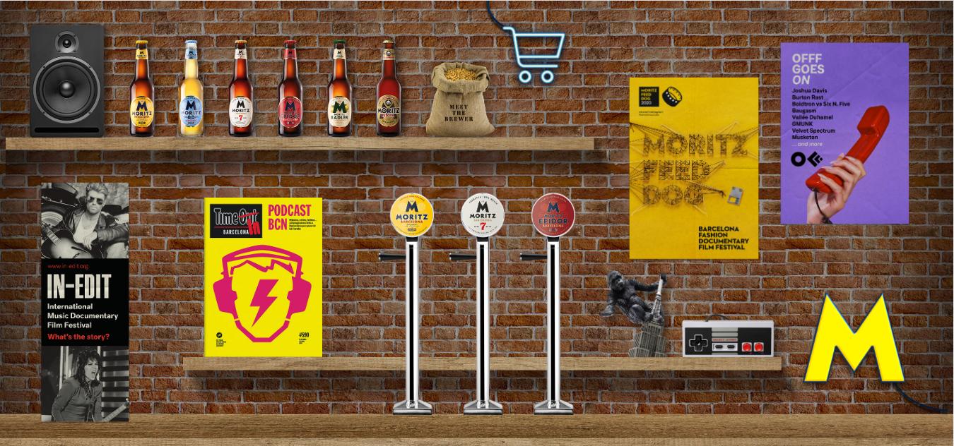 ¡Adentraos en el nuevo bar virtual de Moritz!